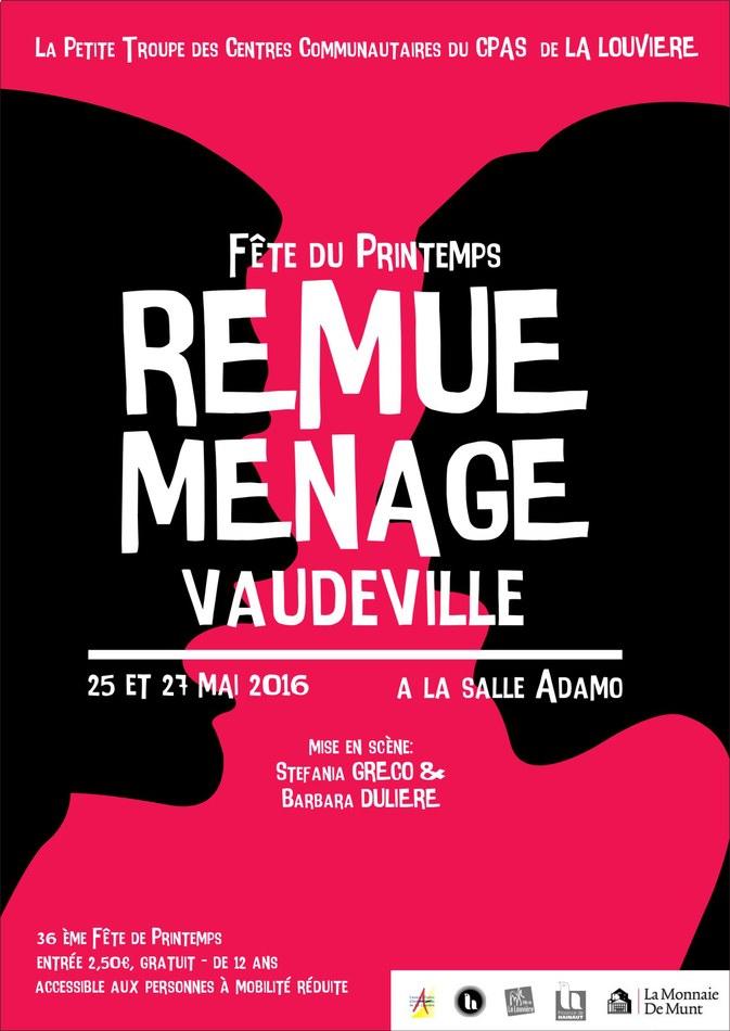 Remue Ménage - vaudeville