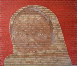 Aimé M'pané Avenir mural