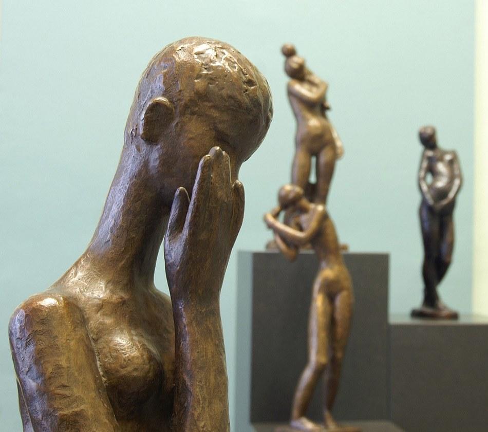 45 Ensemble bronzes détail