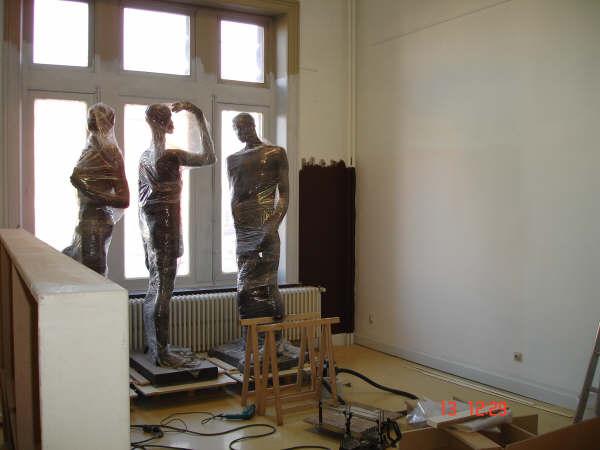 Travaux 2006 salle africaine