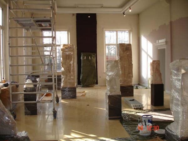 Travaux 2006 salle des marbres
