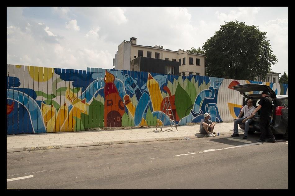 rénovation urbaine la louvière