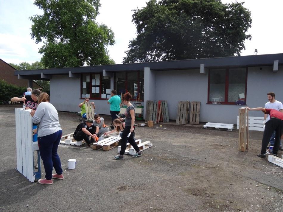 2015 à la Maison de quartier de La Croyère