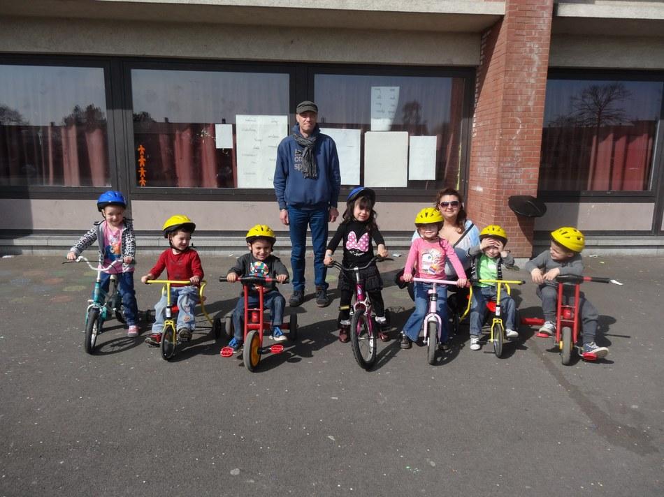 Stage à la Maison de quartier de Saint Vaast avec les 3 5 ans