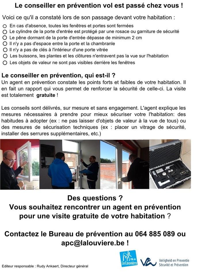 2015   securité habitation   passage de l'agent en prévention