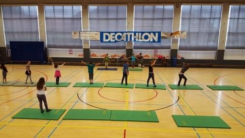 Activité sportive   Implantation des ados