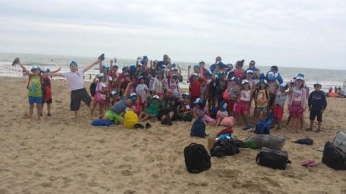 Voyage à la mer 2015   implantation de Bracquegnies