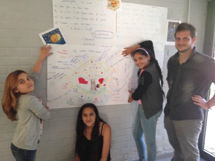 Atelier poésie à l'Antenne citoyenne de Strépy Bracquegnies