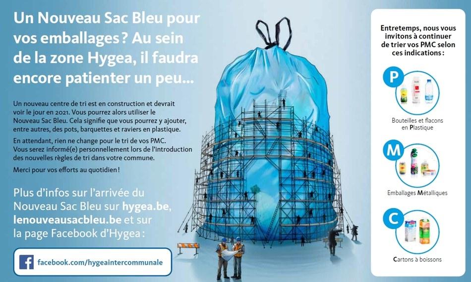 Sac bleu new folder