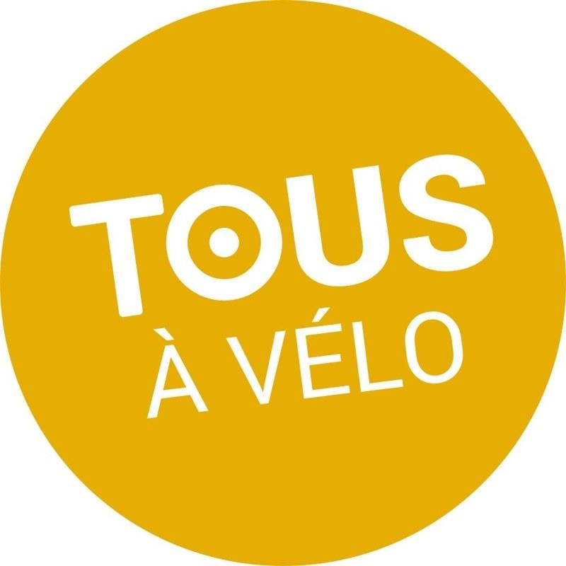 pastille Tous a velo jaune