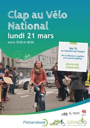 Affiche Clap Vélo