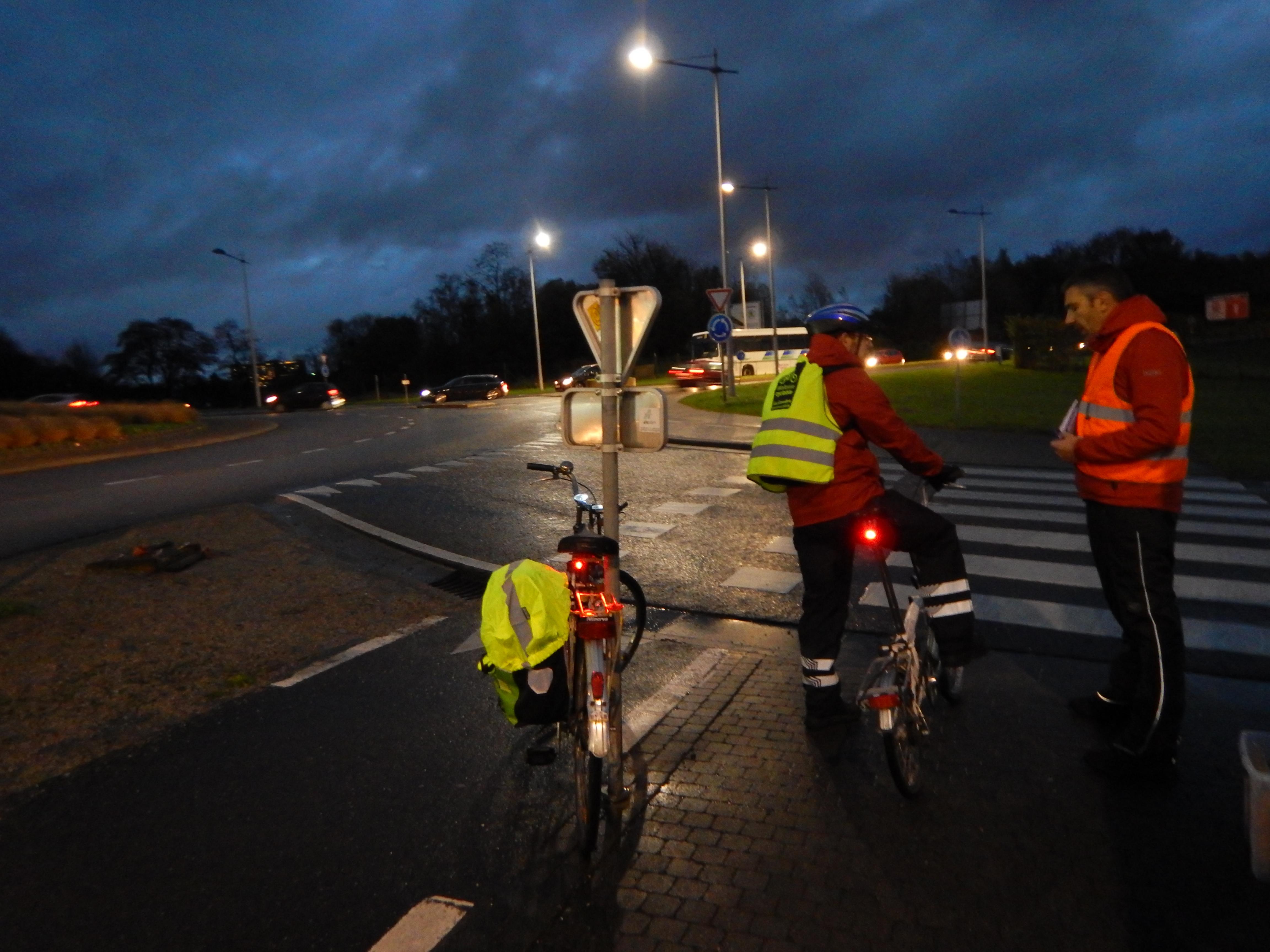 Vélos éclairés