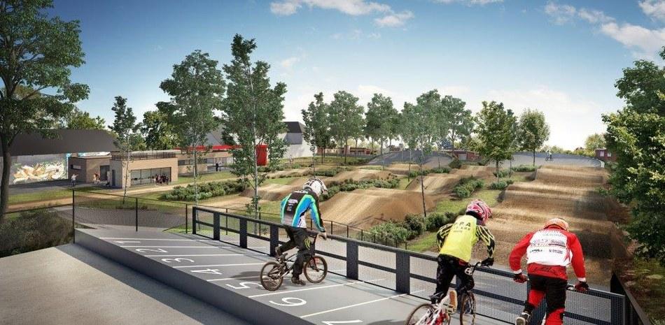 Strépy Bracquegnies Bike Park visuels permis   Vue 2   171020